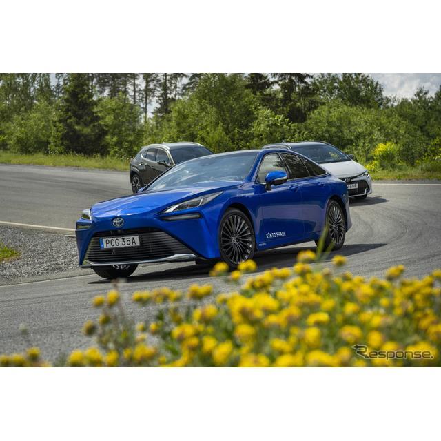 トヨタ自動車の欧州部門は6月23日、新車のサブスクリプションを手がける「KINTO」が燃料電池車の『ミライ』...