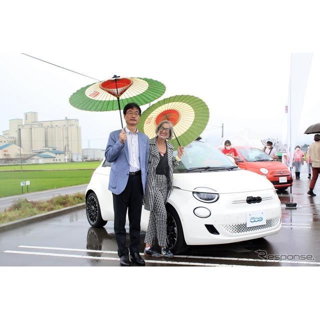 7月4日、新潟県燕市役所特設会場において、フィアット『500』のお誕生会、「FIAT PICNIC」が開催された。主...