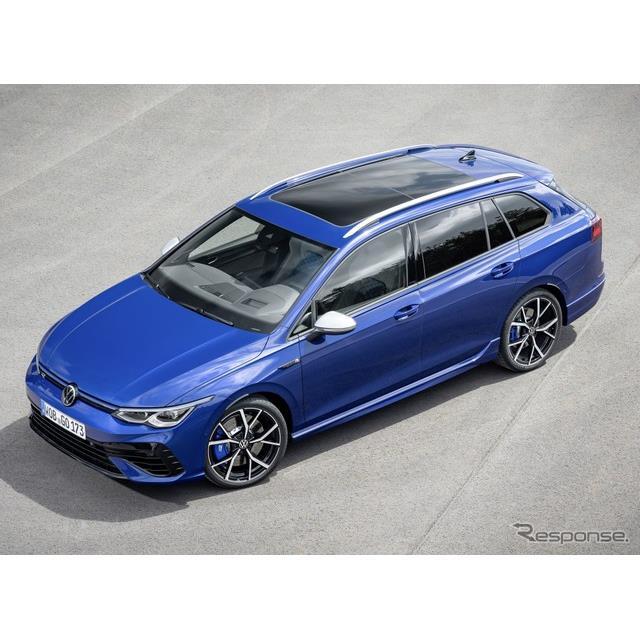 フォルクスワーゲンは7月7日、新型『ゴルフRワゴン』(Volkswagen Golf R Wagon)を欧州で発表した。ハッチ...