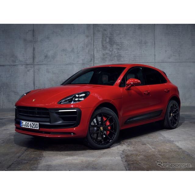 ポルシェは7月20日、改良新型『マカン』(Porsche Macan)を欧州で発表した。  ◆フロントノーズを再設計...