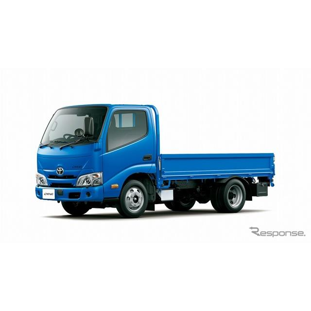 トヨタ自動車は、『ダイナ』1t積系を一部改良し、7月26日より販売を開始した。  今回の一部改良では、カ...