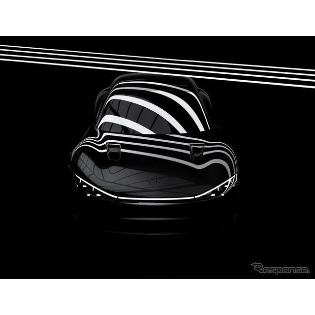 メルセデスベンツ(Mercedes-Benz)は7月22日、コンセプトカーの『ヴィジョンEQXX』のティザー写真を公開し...