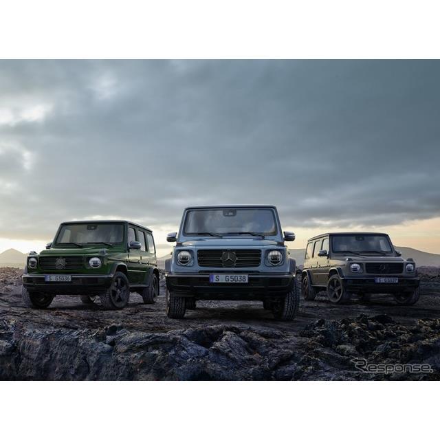 メルセデスベンツ(Mercedes-Benz)は7月24日、『Gクラス』のEVを2024年に初公開すると発表した。  メル...
