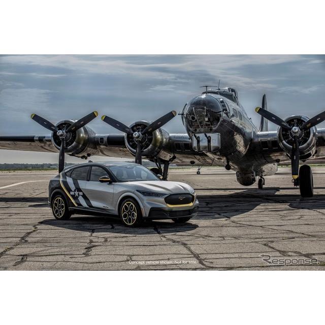 フォードモーターは7月27日、フォード『マスタングマッハE』  (Ford Mustang Mach-E)のワンオフモデルを7...