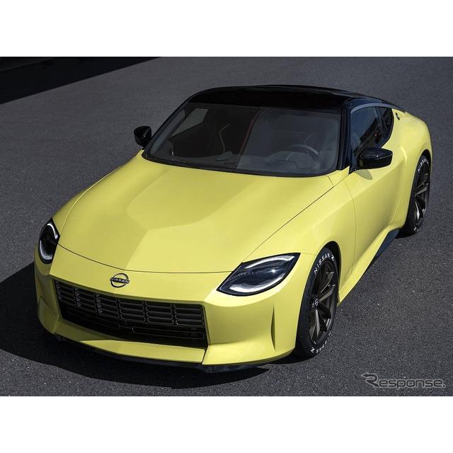 日産自動車の米国部門は8月11日、8月17日にワールドプレミアする予定の新型『Z』(Nissan Z、日本名:『フ...