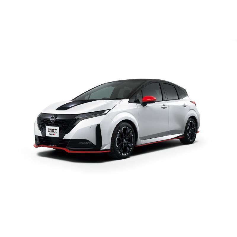 日産自動車は2021年8月17日、コンパクトカー「ノート オーラ」をベースとしたスポーティーバージョン「ノー...