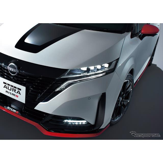 日産自動車は17日、上級コンパクト『ノートオーラ』をベースにスポーツ性能を高めた『ノートオーラ NISMO』...