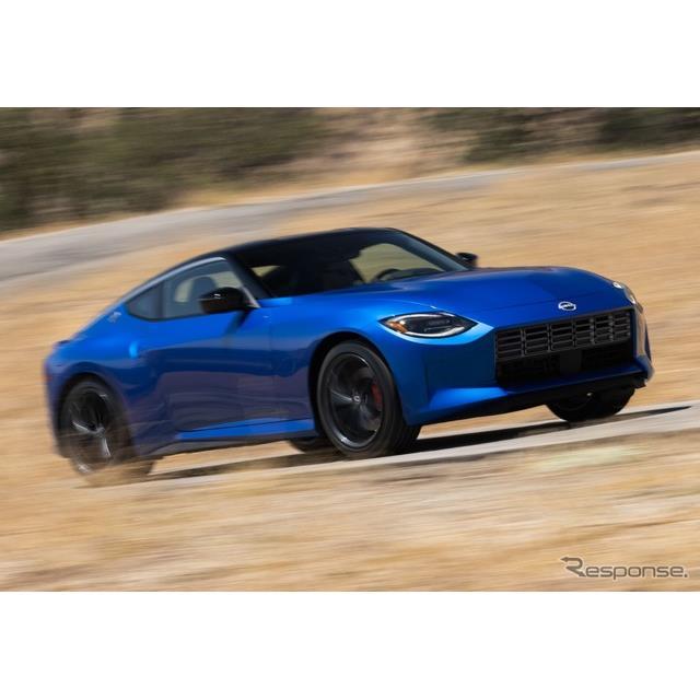 日産自動車(Nissan)は8月18日、ニューヨークで開催した特別イベントにおいて、新型『Z』(日本名:『フェ...
