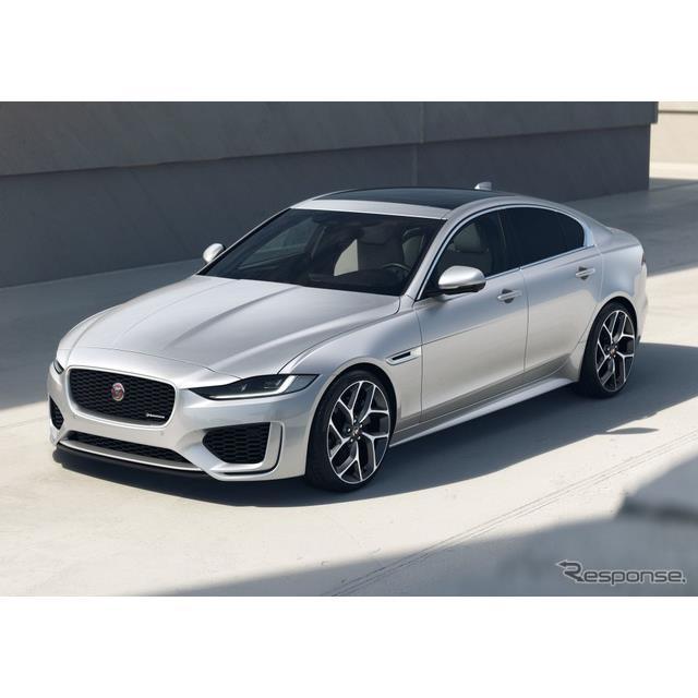 ジャガーカーズは8月25日、ジャガー『XE』(Jaguar XE)の2022年モデルを欧州で発表した。  ジャガーXEは...