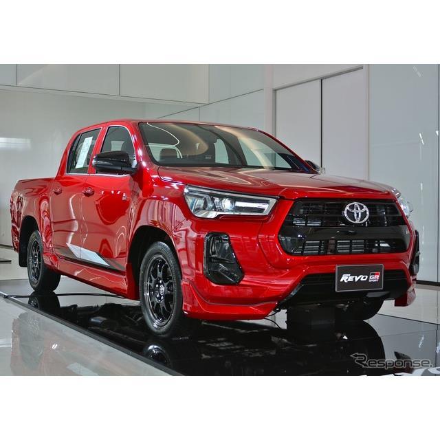 トヨタ自動車は、9月17日に改良新型『ハイラックスレボ』の「GRスポーツ」(Toyota Hilux Revo GR Sport)...