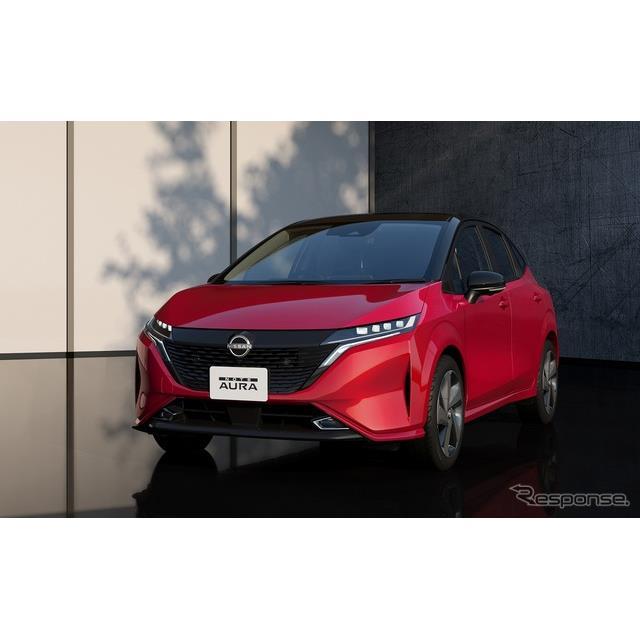 日産自動車は、8月17日に販売を開始した新型コンパクトカー『ノートオーラ』が、発売から約3週間で受注1万...