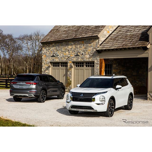 三菱自動車は9月8日、新型『アウトランダー』のガソリンエンジンモデルが米国道路安全保険協会(IIHS)の安...