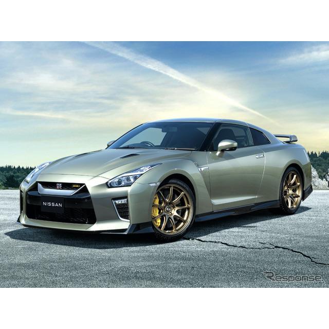 日産は9月14日、オンライン発表会を開催し、『GT-R』2022年モデル及び特別仕様車「GT-R Premium edition T-...