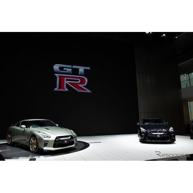 日産は『GT-R』の2022年モデルに100台限定(予定)のT-specを発表した。大きなポイントは特別装備や軽量化...