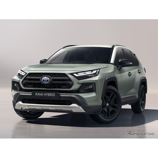 トヨタ自動車の欧州部門は9月14日、『RAV4』(Toyota RAV4)の2022年モデルを欧州で先行発表した。  ◆新...