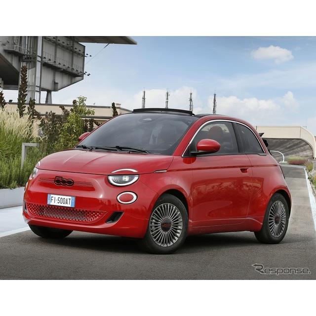 フィアットは、EVとなった欧州仕様の新型『500』(日本導入モデルの名称は『500e』)に「RED」を設定する。...