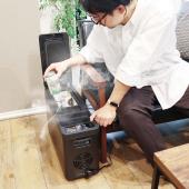 「氷も作れる『リビング冷凍冷蔵庫』21C-CFWB」