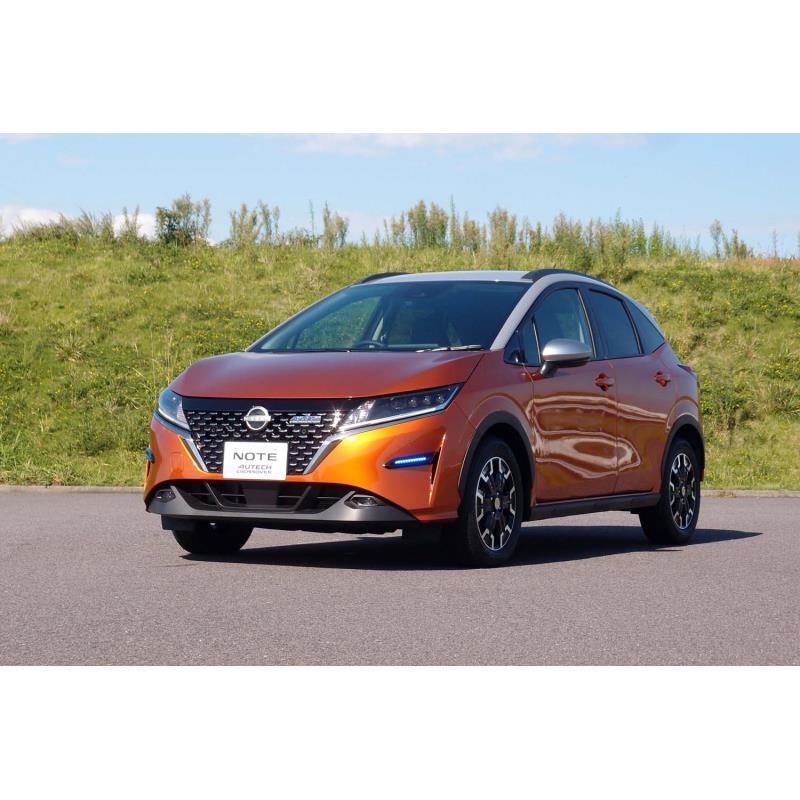 日産自動車と、同社の特装車などを手がけるオーテックジャパンは2021年10月7日、新型車「ノートAUTECHクロ...
