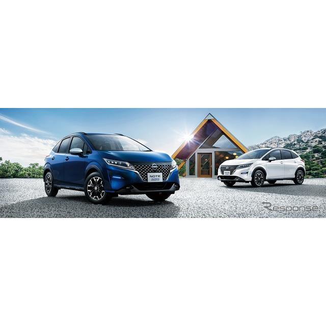 日産自動車とオーテックジャパンは、ブランド初のコンパクトクロスオーバーモデル『ノート AUTECH クロスオ...