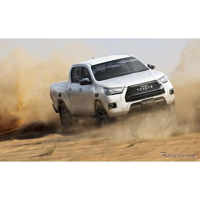 トヨタ自動車は、ピックアップトラックの『ハイラックス』に「Z GRスポーツ」を追加するとともに、「Z」、...