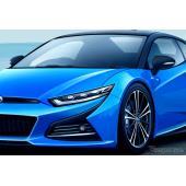 トヨタの新型ミッドシップスポーツ、予想CG
