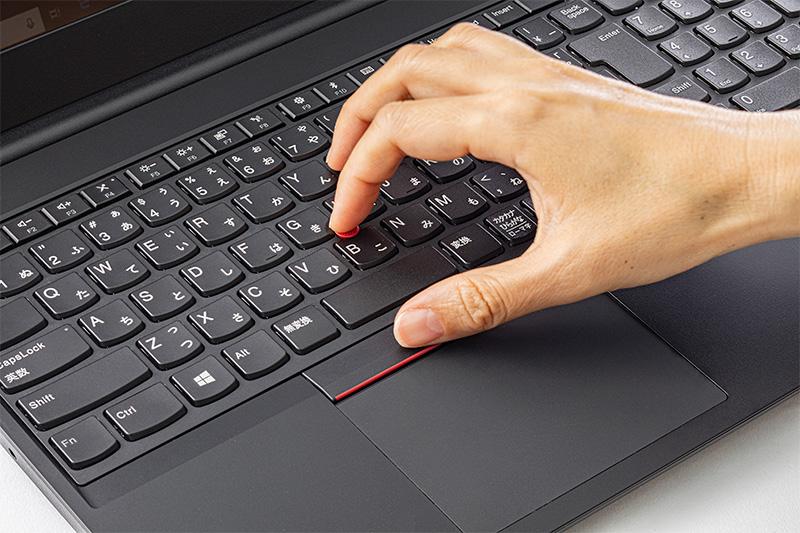 「赤ポチ」を使わないThinkPadユーザーが ...