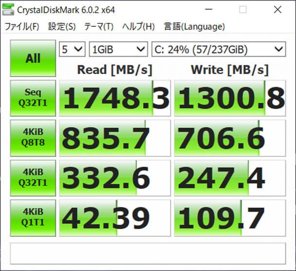 マウス NEXTGEAR-NOTE i5565SA1-M2SH2-KK