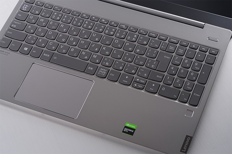 「IdeaPad S540」ゲーミングエディション