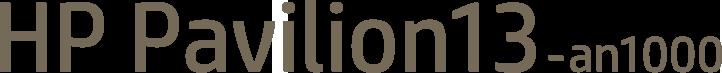 HP Pavilion13-an1000