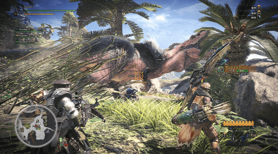 MONSTER HUNTER WORLD アンジャナフ