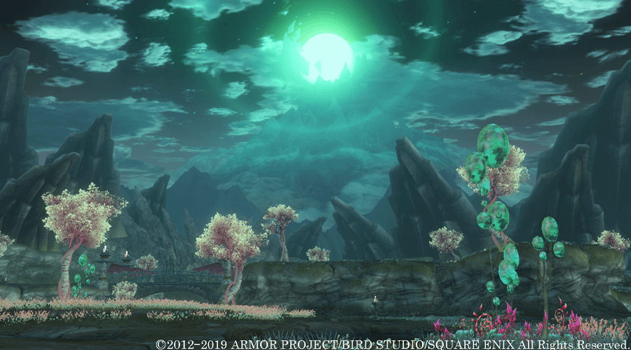 DRAGON QUEST X ONLINE 丘 背景
