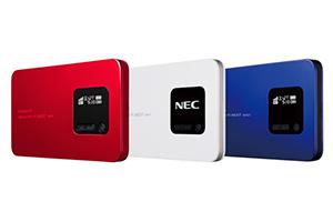 NEC Speed Wi-Fi NEXT WX01