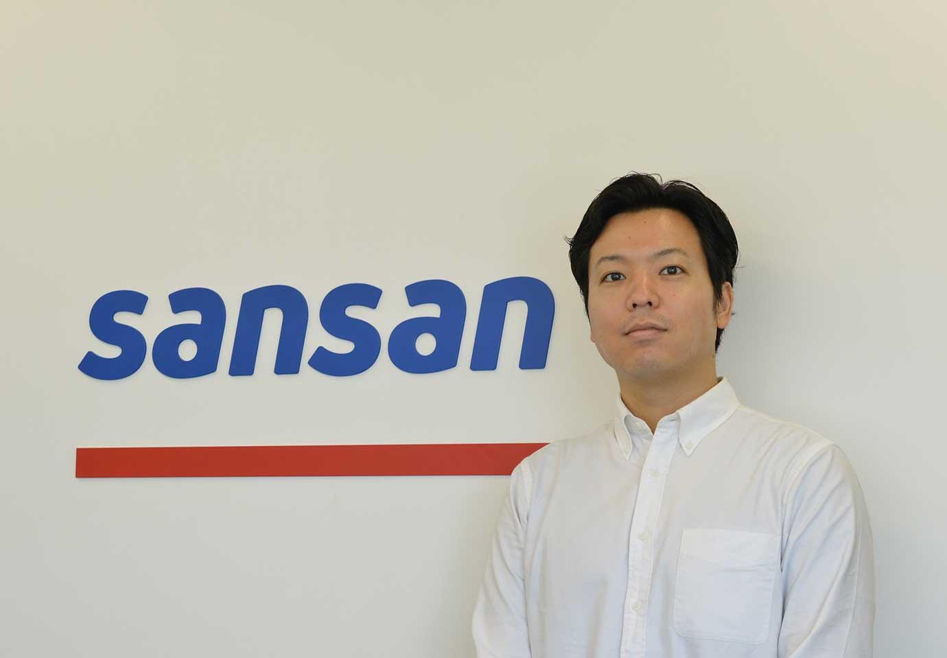 今回お話を伺ったSansan株式会社ブランドコミュニケーション部 PRマネージャー 小池亮介氏。