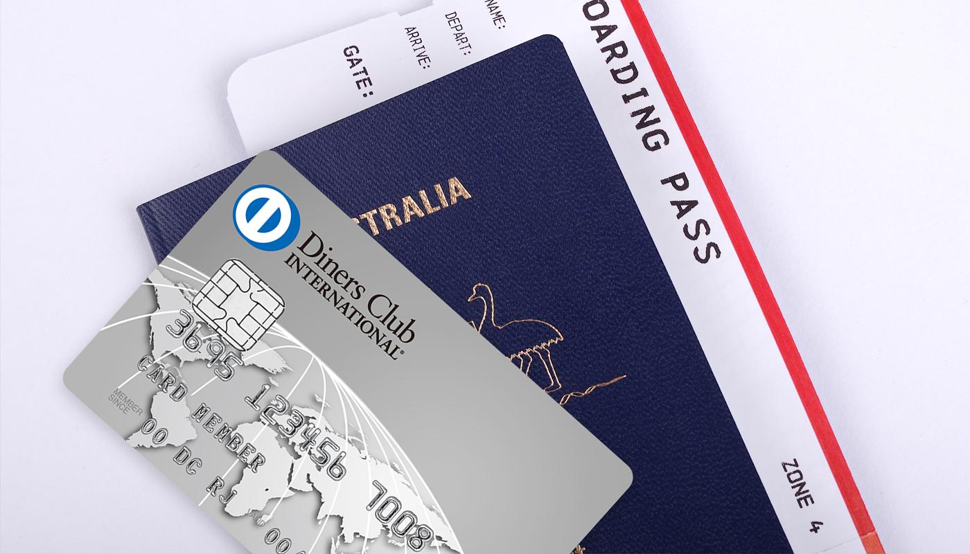航空券とダイナースクラブカード