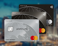 TRUST CLUB:Mastercard上位3券種の展開をスタート