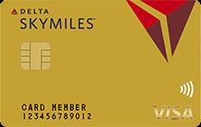 デルタ スカイマイル TRUST CLUB ゴールドVISAカード