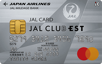 JAL CLUB EST普通カード
