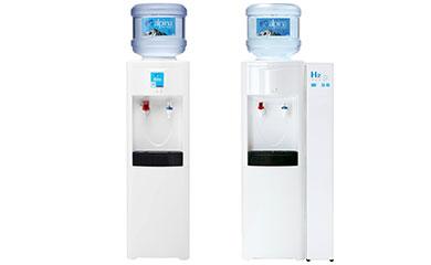 オプションを選択すると、ウォーターサーバーから出る水を簡単に水素水にできる「高濃度水素水キット」を設置できます
