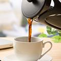 コーヒーやお茶もすぐ飲める