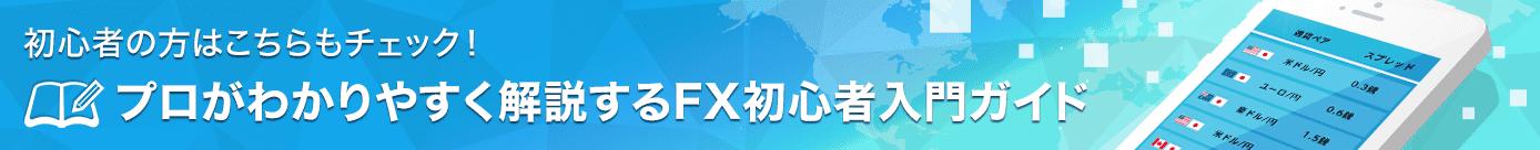 プロがわかりやすく解説するFX初心者入門ガイド