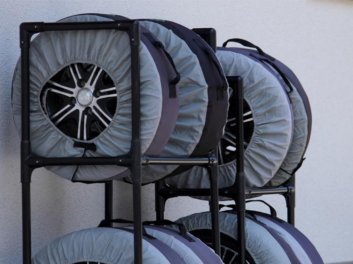 タイヤの保管方法