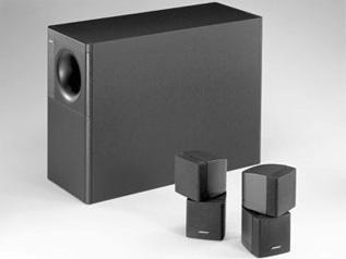 低音をより強調したスピーカーシステム