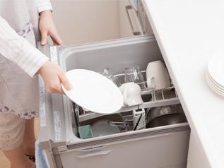 家族の人数に合わせて食器容量を選ぶ