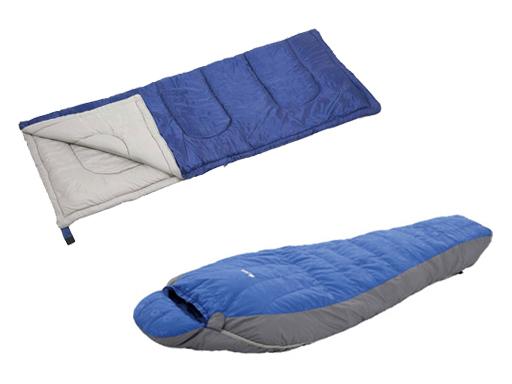 寝袋・シュラフのタイプをチェック