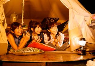 キャンプで宿泊する際の「寝室」になるのがテント