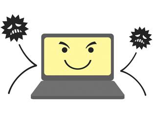 パソコンをウイルスやスパイウェアなどの侵入から防ぐ