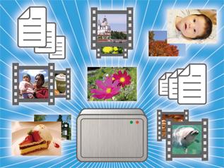 膨大なデータを収納できる、2〜3TBの大容量モデルが人気