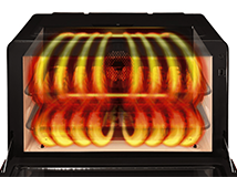 100度超の水蒸気で油と塩分をカットできる「過熱水蒸気機能」が普及機種にも