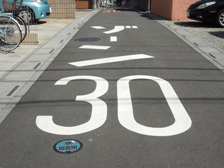 ゾーン30表示