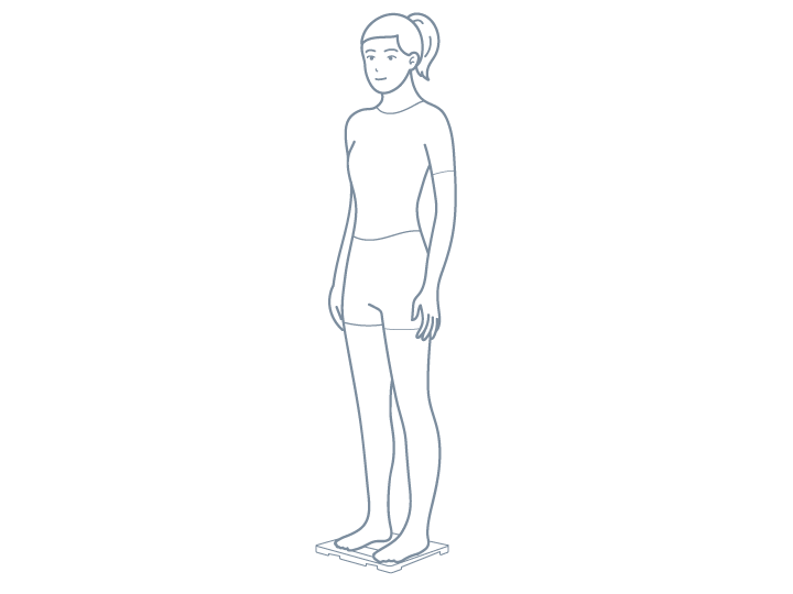 両足で測定